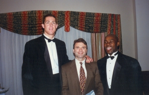 1997 - LaFrentz-Vaughn - Wooden Award, LA